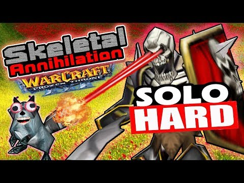 Warcraft 3   Custom   Skeletal Annihilation EPIC   Solo   HARD Difficulty
