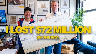 I LOST $72 MILLON AND 1 BET IN ONE DAY! | Ryan Serhant Vlog #70