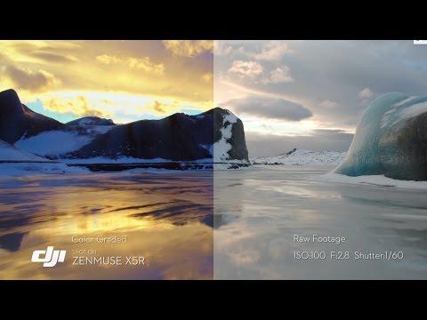 DJI - Zenmuse X5R Tuned Footage
