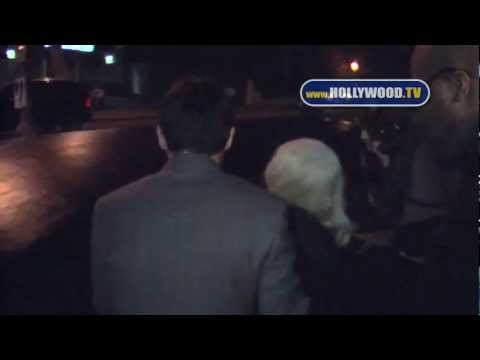 Christina Aguilera and boyfriend Matt Rutler dine at Mozza