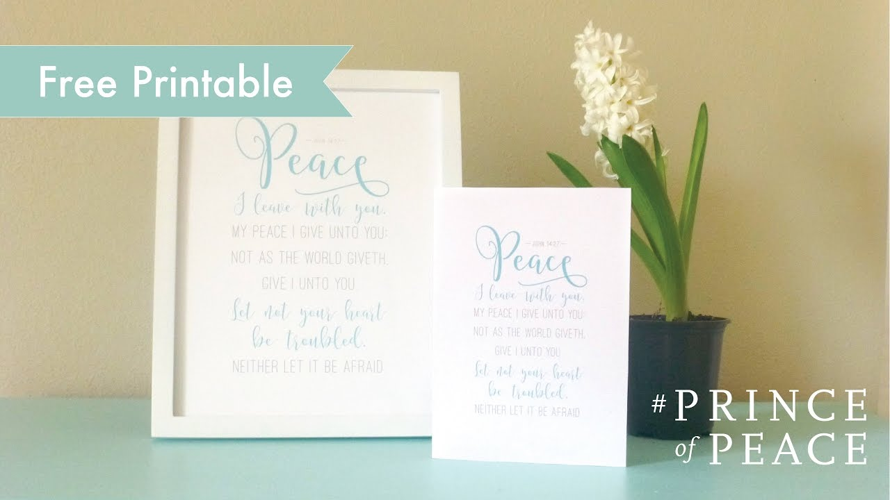 graphic regarding Free Printable Scripture Art named #PRINCEofPEACE: Cost-free Printable Scripture Artwork - My Tale of Acquiring Rest within Jesus Christ - Easter