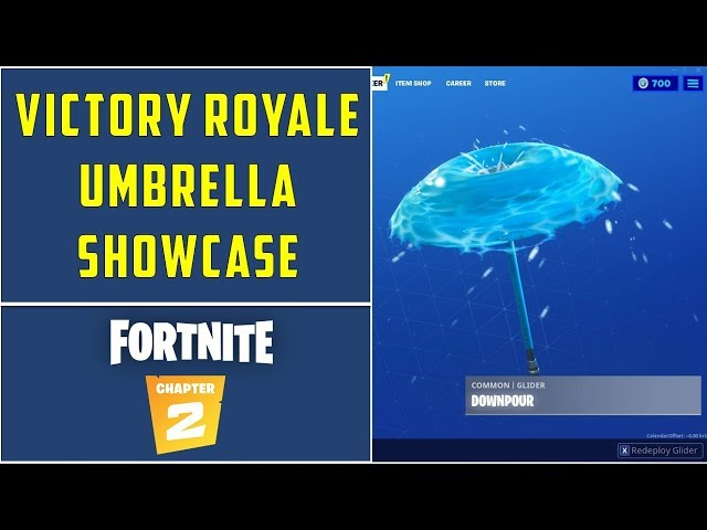 Fortnite Chapter 2 Victory Umbrellas List