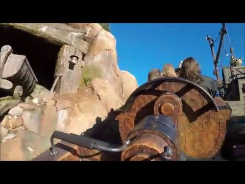 Seven Dwarfs Mine Train @ Walt Disney World Magic Kingdom FULL RIDE (GoPro POV HD from January 2016)