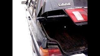 видео Как зафиксировать крышку багажника ВАЗ 2115