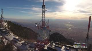aerial drone samples albuquerque nm sandia crest 2 4 clips production outfitters