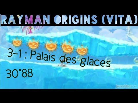 "Rayman origins (VITA) - Fantôme 3-1 Palais des glaces : 30""88 SUB!!!"