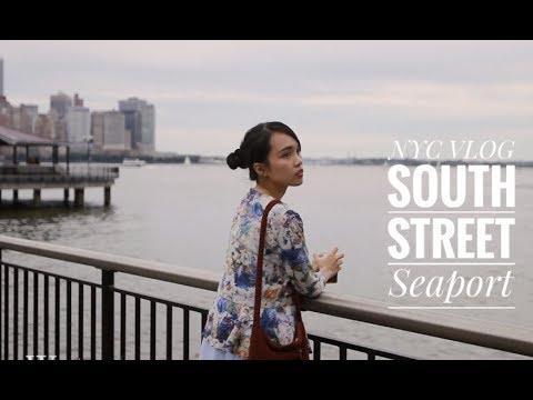 NYC VLOG 跟我一起逛紐約週末穿搭 | South Street Seaport Casual Weekend Style