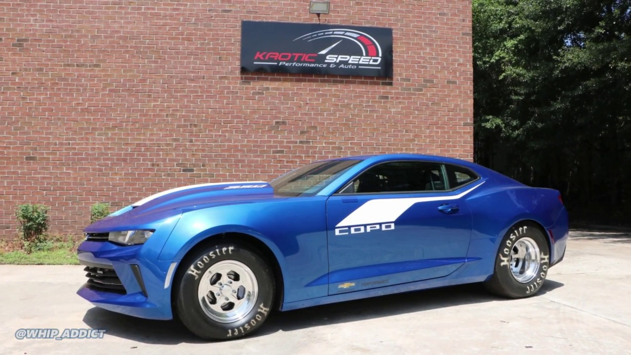 WhipAddict: 2017 Chevrolet COPO Camaro gets Tuned at Kaotic Speed! Supercharged V8