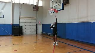 "Deon re-creates a practice habit | Deon Hunter ""Hoop Hunter"" TM"