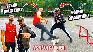 I Challenged SEAN GARNIER To A PANNA Match...