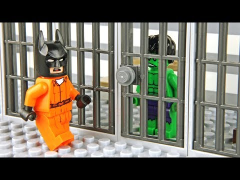 Thumbnail: Lego Batman and Hulk Prison Break