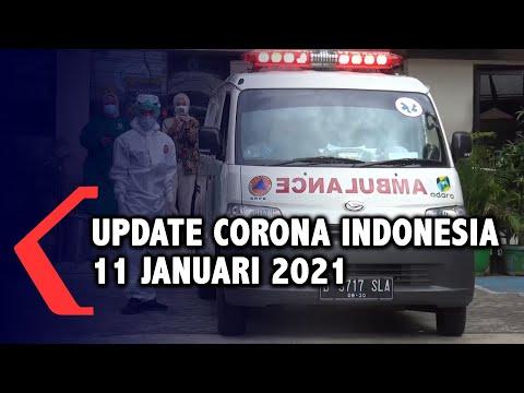 Update Corona 11 Januari, 836.718 Positif, 688.739 Sembuh, 24.343 Meninggal