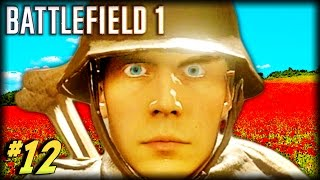 BATTLEFIELD 1 - Unfortunate Moments #12 (Crazy Flying Deaths, Funny and Random Moments!)