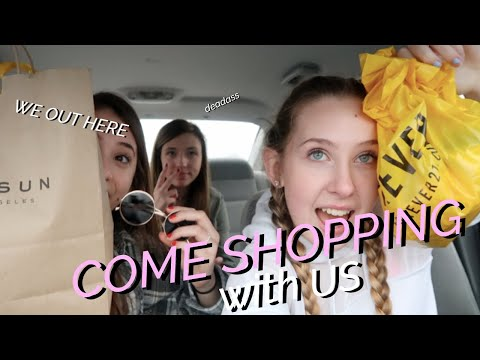 SHOPPING W LILY & FRIENDS (almost very bad ending)