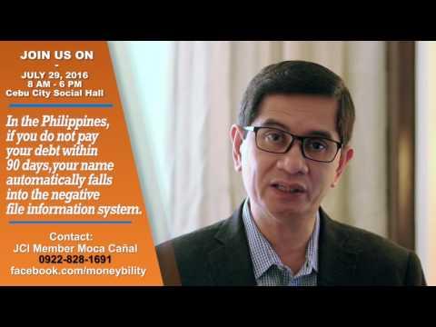 Moneybility - June 29, 2016 at the Cebu City Social Hall (Efren L. Cruz on debt)