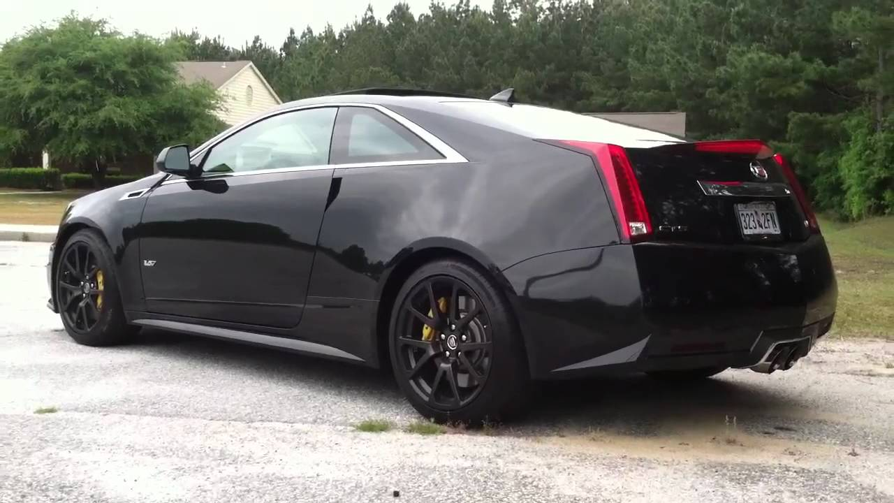 2011 Cts V Black Diamond Edition With Corsa Sport Exhaust