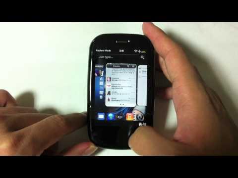 Palm Pre Plus & webOS - Gestures