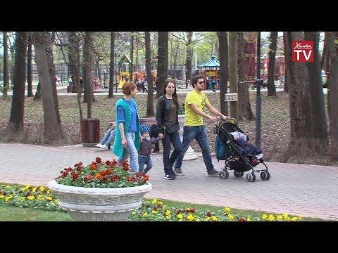 В парке Толстого праздничная программа