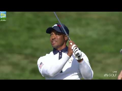 Tiger Woods Sweet Spot Golf Shots 2018 Ryder Cup