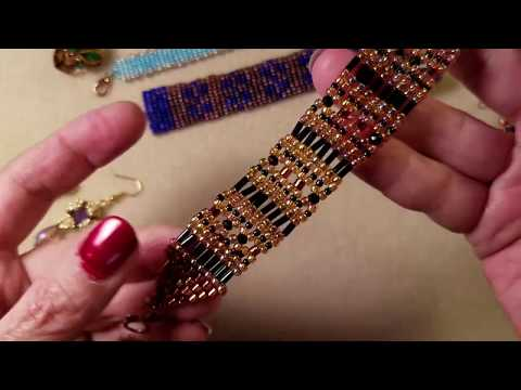 Square Stitch Part 2 - Using a Variety of Beads