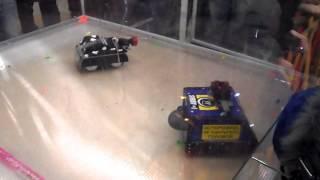 первый бой моего робота