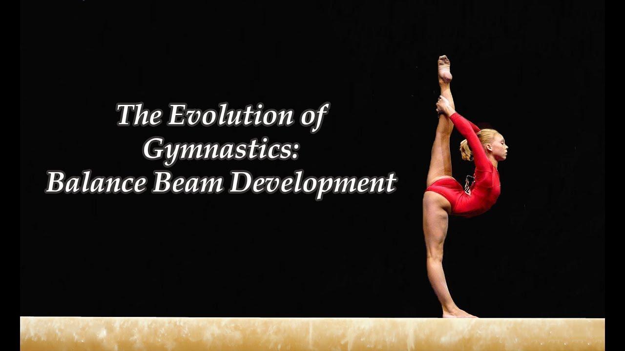 the evolution of gymnastics balance beam development youtube