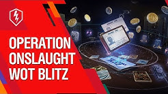 Operation Onslaught. Battle Pass in WoT Blitz.