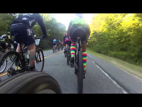 Sec1 - pavement - fork cam - outbound - Wilmington Whiteface 100k