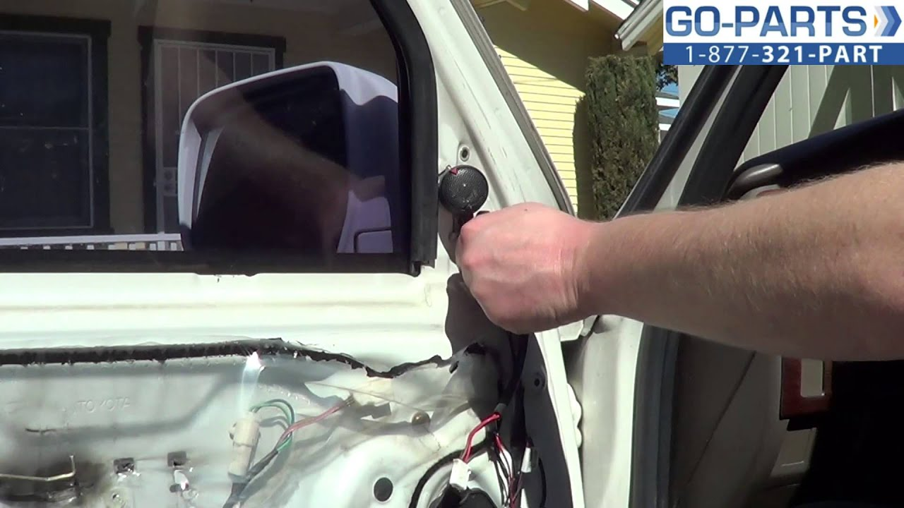 Replace 1996 2002 Toyota 4runner Side Mirror How To