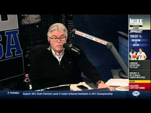 Mike Francesa discussing deflategate