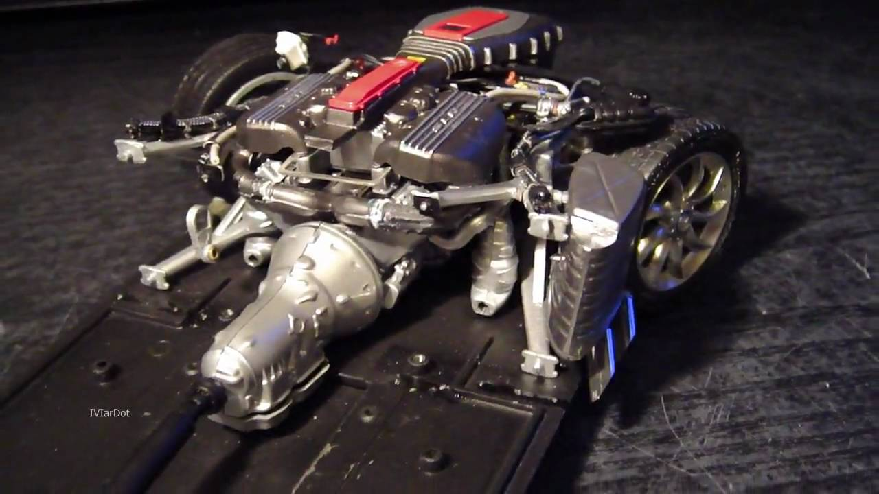 Mercedes Slr Cmc Engine Overview Youtube