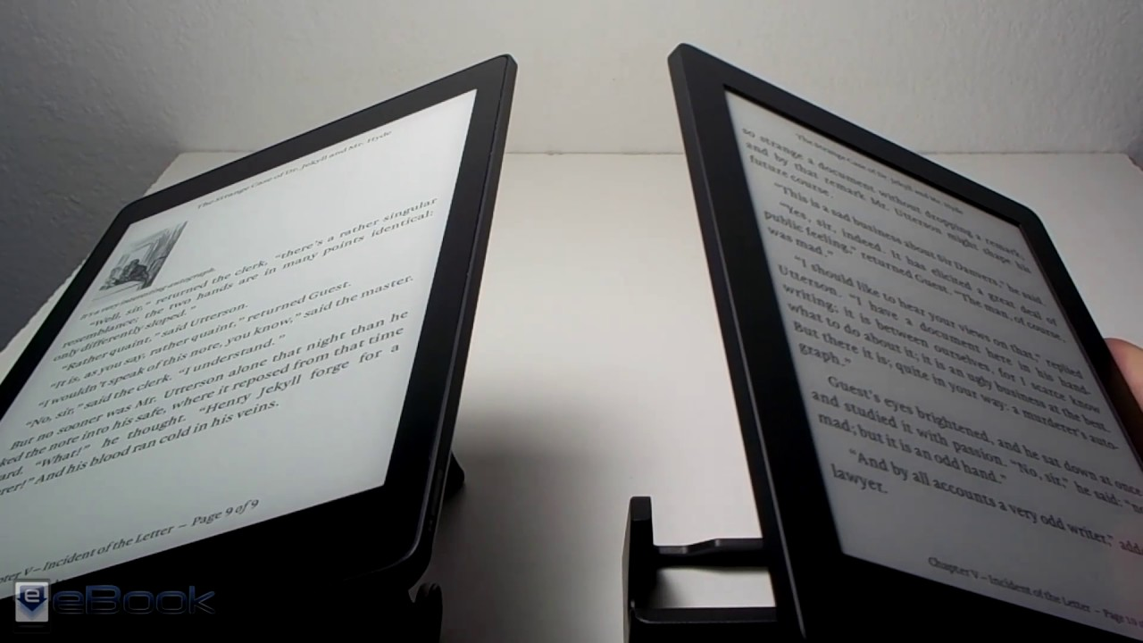 Kobo Aura One vs Kobo Aura H2O Comparison Review