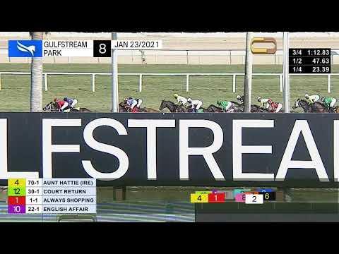 Gulfstream Park Carrera 8 (The La Prevoyante Stakes Gr.3) - 23 De Enero 2021