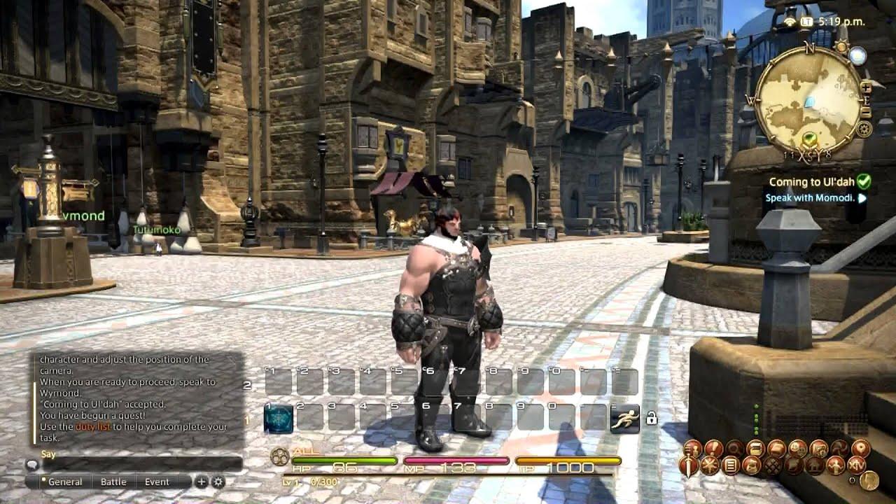 FFXIV: A Realm Reborn First Fifteen Minutes (HD)