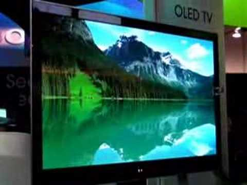 CES 2008 - SONY OLED TV