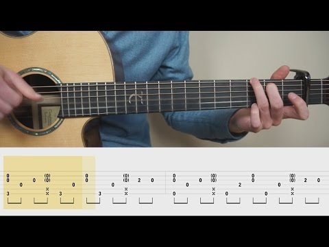 Ed Sheeran - Perfect - Fingerstyle Guitar TABS Tutorial (Lesson) Mattias Krantz