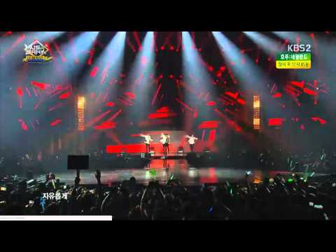 140618 Music Bank in Brazil SHINee - Intro+Lucifer