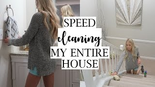 Clean My ENTIRE House With Me! | Whole House Cleaning Vlog | Erica Lee