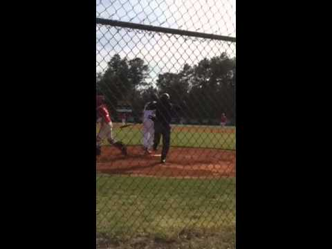 Over excited umpire in Bulloch County, Georgia