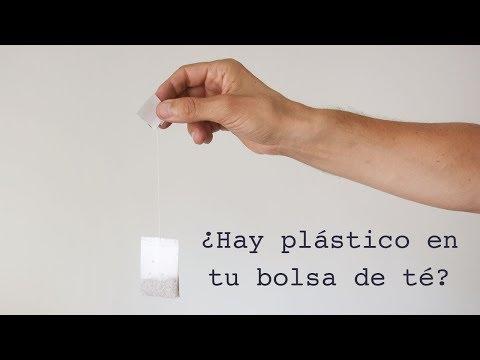 ¿Tiene plástico tu bolsa de té?
