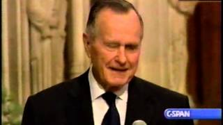 Funeral of Ronald Reagan, 2004-06-11 Part 9 (George H Bush)
