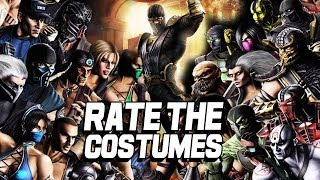RATE THE COSTUMES: Mortal Kombat 9 Edition