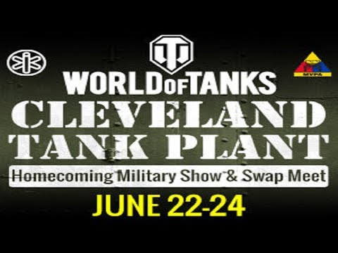 The Cleveland Tank Plant Military Vehicle Show 2017 |K&AGamers|