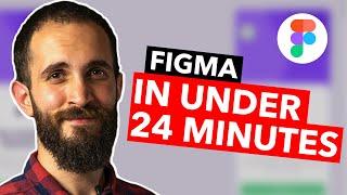 Figma UI Design Tutorial: Gęt Started in Just 24 Minutes! (2021)