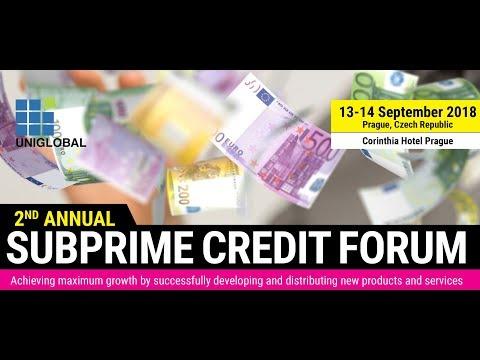 2nd Subprime Credit Forum 2018