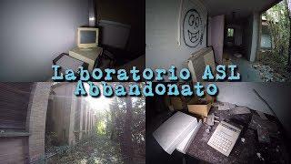 Laboratorio dell'ASL abbandonato