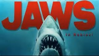JAWS GOT ME!| Roblox-Jaws with Ryan an Logan