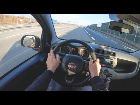 Fiat Panda III | 4K POV Test Drive #397 Joe Black