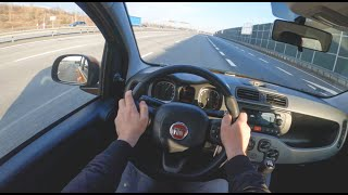 Fiat Panda III | 4K POV Test Drive #397 Joe Black