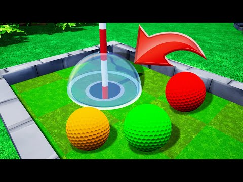 99% Impossible To Finish This TROLL HOLE! (Golf It)